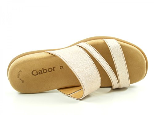Gabor Damen Fashion Sandalen Rosa