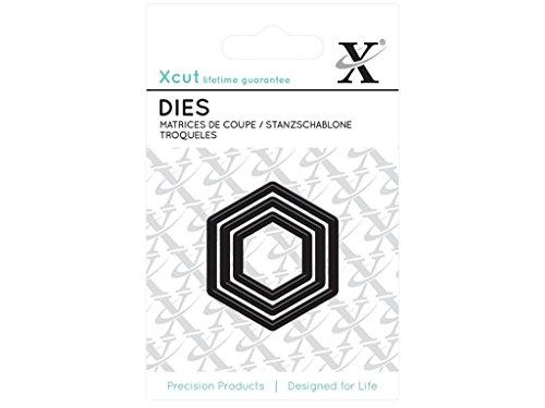 Xcut Alphabet-Dies –Alice Distanzhülse/Schnitt-Detail-Schablone, metall, schwarz, 0.1 x 5 x 4 cm (Die Schnitt-schablonen)