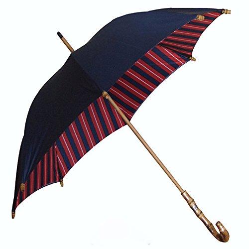 zjm-vintage-umbrella-men-and-women-double-umbrella-long-handle-sunscreen-creative-bambooblue
