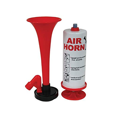 cdzhouji Hand Laut Air Horn Pump Klingel Super Laute Alarmglocke Ring Ultra Laut Retro Air Horn-Alarmglocke Tragbare Trompete Air Horn Fire Alarm Air Horn 1 Set -