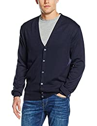 Henbury Mens V Lightweight Cardigan