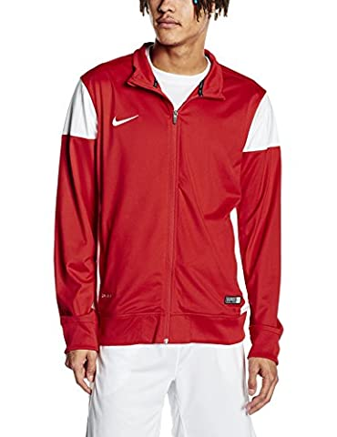 Nike Herren Sweatshirt Sideline Knit Academy 14, red/white, XL, 588470-657