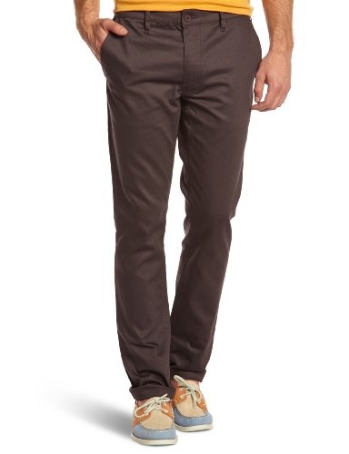 Cheap Monday - Pantaloni chino, uomo, Grigio (Gris (Plum Grey)), 42/44 IT (29W/32L)