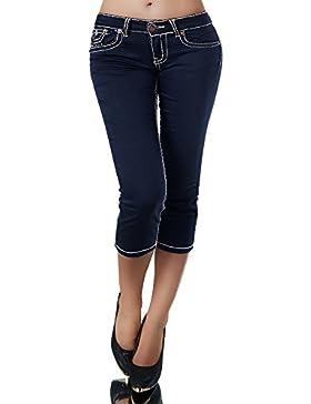 Diva-Jeans - Vaqueros - Capri - Básico - para Mujer