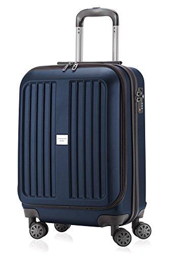 HAUPTSTADTKOFFER - X-Berg - Handgepäck Koffer Trolley Hartschalenkoffer, TSA, 55 cm, 42 Liter, Dunkelblau