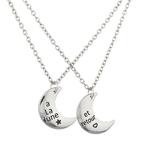 lux-zubehor-silvertone-a-la-lune-et-retour-crescent-moon-bff-halskette-2