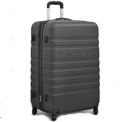 Grande valise 70 cm Noir Little Marcel