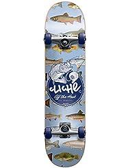 Cliché Hook Skateboard complet Bleu Taille 7,9