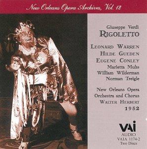 Verdi : Rigoletto - Warren (1952)/New Orleans