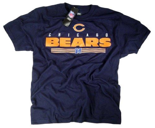 Chicago Bears camiseta ropa Apparel producto oficial de la NFL team logo por el fútbol de la Liga, Unisex, color azul, tamaño medium