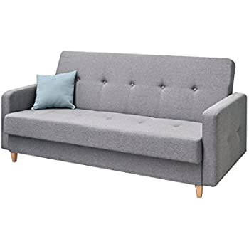 Helsinki schlafsofa 3 sitzer schlafcouch klappsofa couch for Schlafsofa amazon