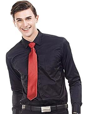 GOMY - Camisa formal - Con los botones - Básico - Clásico - para hombre