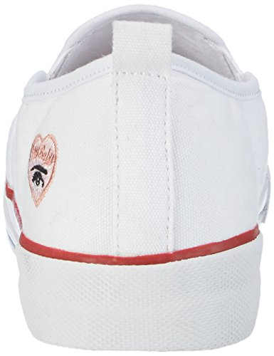 Marco Tozzi Damen 24618 Slipper Weiß (White Comb 197)