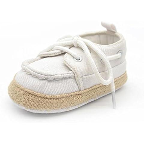 Transer® Bebe infantil niño chico chica zapatilla niño zapatos de suela suave