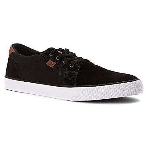 DC - Young Men-Rat S Low Top Schuhe, EUR: 45.5, Black/Brown/White