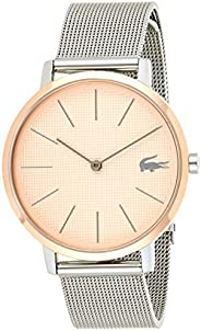 Lacoste Womens Quartz Watch, Analog Display and Stainless Steel Strap 2001072