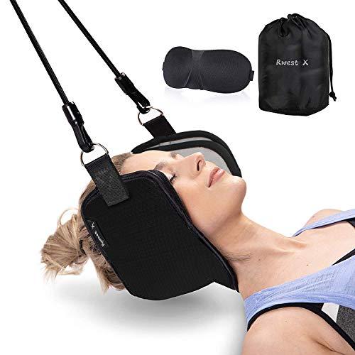 Neck Hammock|Hals Hängematte|Nackenhängematte|Kopf Nackenmassagegerät für Chronische Nacken und Schulterschmerzen|Bessere Hals Relax Für Büro Haus für Männer Frauen|Tragbare Schmerzlinderung -
