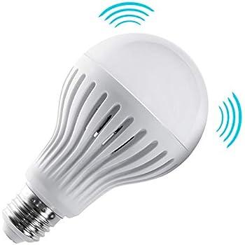 Maclean MCE177 - Bombilla LED con sensor de movimiento para microondas (E27, 9 W, luz blanca cálida)