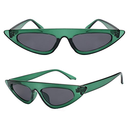 rawuin 1Cat Eye Sonnenbrille Frauen Fashion Cool Design weiblich dreieckig UV400Shades