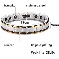 Herren Damen Magnetische Hämatit Armband Magnete und Gesundheit Armband Weihnachten Geschenke Valentinstag Geschenk preisvergleich bei billige-tabletten.eu