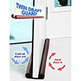 #6: Under Door Twin Draft Guard Cover Stop Light Dust Cool Air Escape Protector