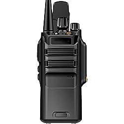 LUOLIN Talkie-walkie Professionnel imperméable 10W Super Puissance Civile Civile Commerciale Table Table 10 km Noir