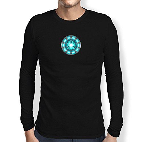 Texlab Arc Reactor - Langarm T-Shirt, Herren, Größe M, Schwarz
