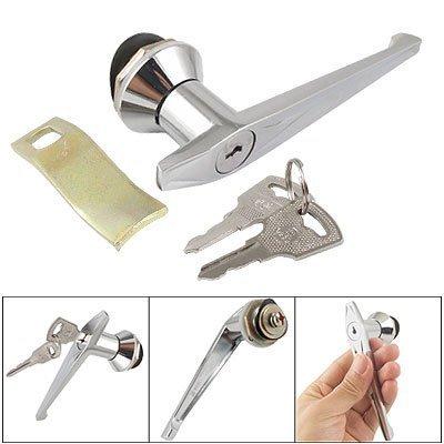Elektrische Schrank 11,9cm lang Schaft L Griff Lock w 2Schlüssel