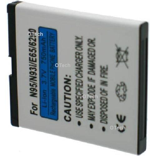 Zwischen 700 und (3,6 V, 800mAh Akku Li-ion für Nokia N93 E65/N95 /