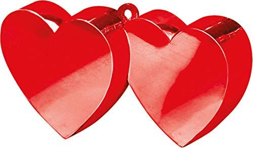 amscan Ballongewicht Herzen 170 g