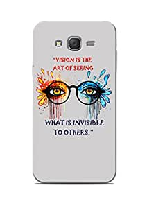 Print Station Printed Back Cover for Samsung Galaxy J7