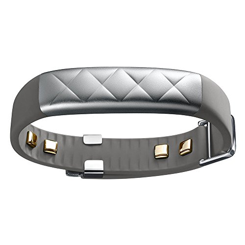 Jawbone UP3 JL04-0101ACA-US activity trackers (Wristband, Wireless, Lithium Polymer (LiPo), Silver, Aluminium, Stainless steel, Black)