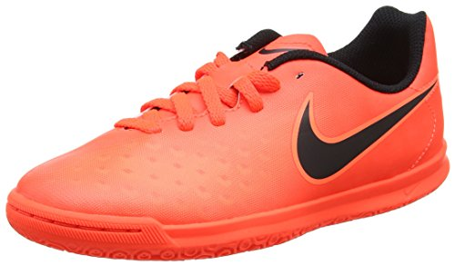 Nike Unisex-Kinder Magista X Ola Ii Ic Fußballschuhe Orange (Total Rouge Crimson/black-bright Mango)