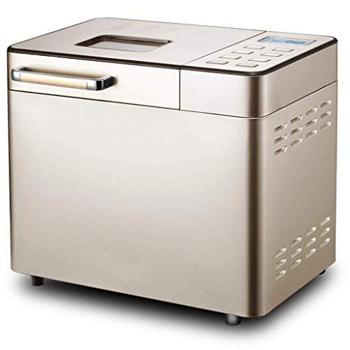 BMMMZ Máquina automática de Pan, máquina for Hacer Pan de Acero Inoxidable, dispensador de nueces de Frutas y Bandeja de cerámica, botón táctil Inteligente