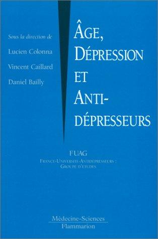 Âge, dépression et antidépresseurs