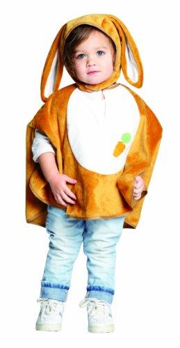 Rubie's 1 2736 104 - Häschen Cape Kostüm, Größe 104 (Zauberer Häschen Kostüm)