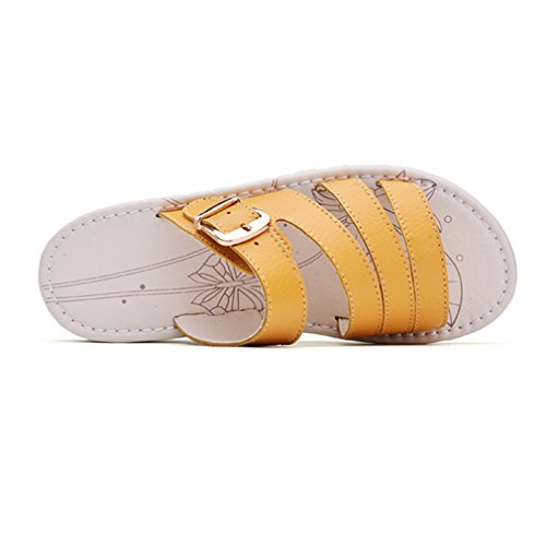 XTIAN - Pantofole Donna Gelb