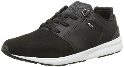 Levis Herren Black Tab Runner Sneakers Schwarz (nero Nero Regolare)