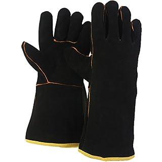 Hide Gauntlet Gloves - Large