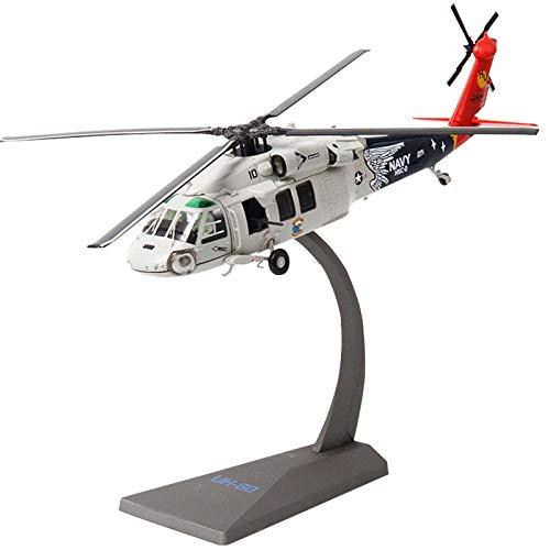 JAA Black Hawk Hubschrauber Uh60 1:72 Rahmen Legierung Bausatz Anwendbar Erwachsene/grau / 1 pcs