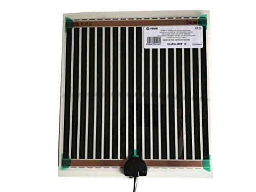 Fenix 6651860 Spiegelheizung/Heizfolie MHF-25, verhindert das Beschlagen von Spiegeln, selbstklebende Beschichtung für eine schnelle und einfache Montage, niedrige Temperaturen, 274 x 574 mm