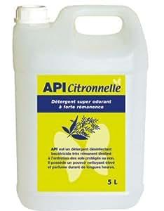 DETERPRO - Détergent désinfectant odorant 5L Api - Détergent désinfectant odorant 5L