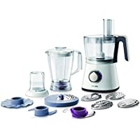 Philips HR7761/01 750 W Kitchen Food Processor with 2.1 L Bowl and Accessories for + 28 Functions