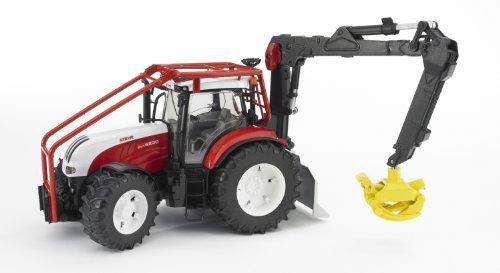 Imagen principal de Bruder 3092 - Tractor Steyr CVT 6230 con grúa