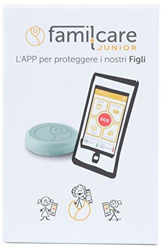 famil.care Junior - proteggi il tuo mondo per DUE MESI. Dispositivo di emergenza, SOS e GPS Tracking per bambini.