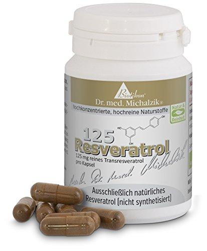 Resveratrol 125 nach Dr. med. Michalzik (125 Prüfungen)