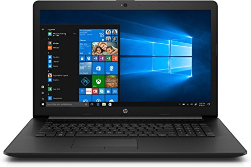 HP 17-ca0207ng (17,3 Zoll / HD+) Laptop (AMD A6-9225, 4 GB DDR4 RAM, 256 GB SSD, AMD Radeon R4, Windows 10 Home) schwarz Laptops 4 Gb Ram