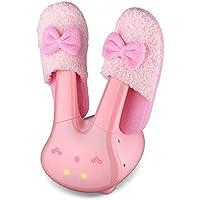 ZXDVJ2 Zapatos De Secado Pink Girl Heart Pink Pink Conejo Desodorante De Invierno Secador De Esterilización Niños Adultos Zapatos Secos
