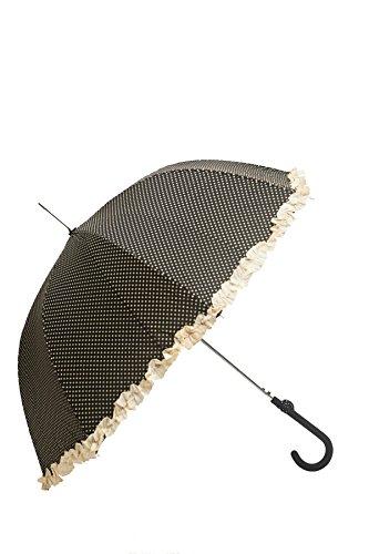Solid Wind (Regenschirm lang - Frou-frou -8 Fiberglas - SOLID EXTREME - Anti Wind (Schwarz))