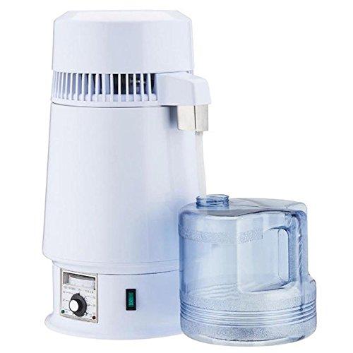 4L Elektrische Dental/Travel/Home Wasser Brenner zinntheken Edelstahl Wasser Purifire Ätherisches Öl Destille W/Glas Flasche (Und öl Für Wasser Brenner)